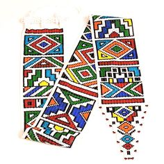 South Africa's Most Fashionable Ethnic Patterns, Peyote Patterns, Loom Patterns, Textures Patterns, South African Design, South African Art, Zulu, Africa Silhouette, African Hats