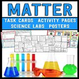 Matter Science Unit - Reading Passages, Labs, and Task Cards!