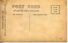 vintage postcard backs | Posted by Rachel at 6:24 AM 1 comment: