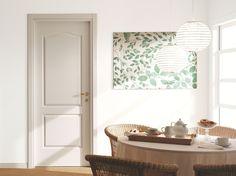 Puertas clásicas batientes lacadas de interior