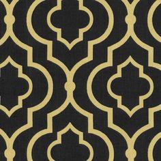 SMC Swavelle Millcreek Home Decor Print Fabric Donetta Twill Ink