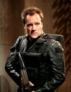 Rodney Mckay looking cooler then the nerd he usually is.
