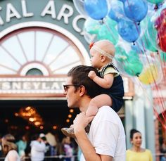 Bradley & Lucy Devine in Disneyland