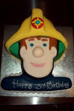 fireman sam birthday cake