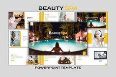 Business Powerpoint Templates, Creative Powerpoint, Creative Presentation Ideas, Clock Tattoo Design, Web Design, Graphic Design, Building A Website, Beauty Spa, Creative Business