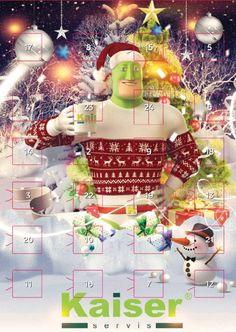 ADVENTNÍ KALENDÁŘE s vlastní firemní grafikou Snow Globes, Christmas Tree, Holiday Decor, Home Decor, Teal Christmas Tree, Decoration Home, Room Decor, Xmas Trees, Christmas Trees