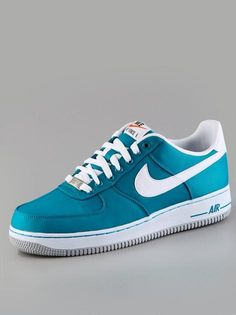 Nike Air Force 1 Tropical Teal White Wolf Grey  #Nike #AirForce #Sneaker #Sneakers #Schuhe