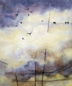 ARTFINDER: The Dreamers by Marjan Fahimi - Oil on canvas