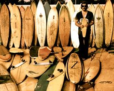 Join a workshop to make your own wooden surfboard, or buy it directly from our online shop. Enjoy surfing with our Super Light Weight Wooden Surfboard.
