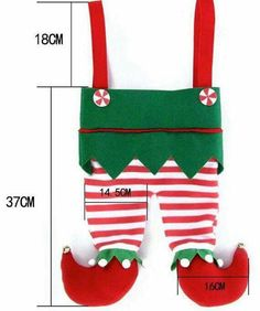 Do it yourself christmas stocking projects stockings stocking toodler christmas elf dress up solutioingenieria Gallery