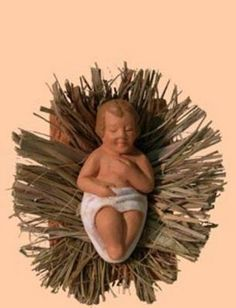 Santons Escoffier - l'enfant Jésus