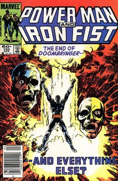 John Byrne Power Man & Iron Fist cover