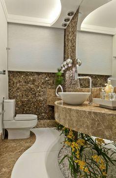 Fotos de Banheiros Moderno: Casa Orquídea