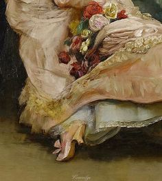 Rogelio de Egusquiza The End of the Ball, 1845-1915 (detail)
