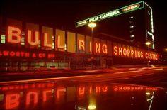 Old Bull Ring Birmingham. Birmingham City Centre, Birmingham Uk, 2nd City, Local History, Googie, Shopping Center, British Isles, Britain, England