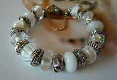 ♥ I WANT A WHITE ONE SO BAD!!!!! troll bead bracelet