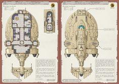 The Silverfish - Free Merchant Vessel : battlemaps Spaceship Interior, Spaceship Art, Spaceship Design, Guerra Anime, Ship Map, Sience Fiction, Star Wars Spaceships, Starship Concept, Sci Fi Ships