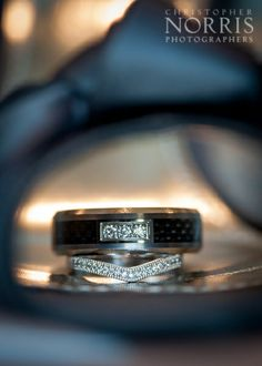 Wedding rings set inside our brides shoe.  http://christophernorris.com/home/cleveland-wedding-photography/
