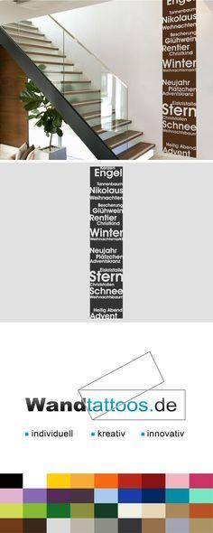 Wandbanner Weihnachtsstimmung als Idee zur individuellen Wandgestaltung. Einfach Lieblingsfarbe und Größe auswählen. Weitere kreative Anregungen von Wandtattoos.de hier entdecken!