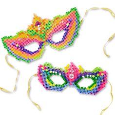 Fancy Masks | Perler Beads