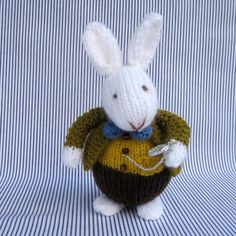 The White Rabbit in Wonderland knitting pattern by Dollytime is an ideal pattern for lovers of Alice in Wonderland. Find the pattern by Dollytime at LoveKnitting.