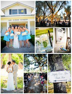Wedding Venue: B.R. Cohn Winery Musical Bliss