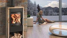 Haas+Sohn kaminska peč na drva Rubus 6 kW black/Woodstone/Serpentino Prestige Ground Floor, Stove, Relax, Home Appliances, Flooring, Wood, Home Decor, House Appliances, Decoration Home
