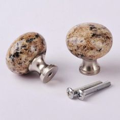10 Pcs of 1MK32 Granite Knobs Installed on Cabinet Cupboard Doors Drawers (Giallo Veneziano) amoylimai http://smile.amazon.com/dp/B00LTIZQTC/ref=cm_sw_r_pi_dp_PR.4wb1W7ZD7R