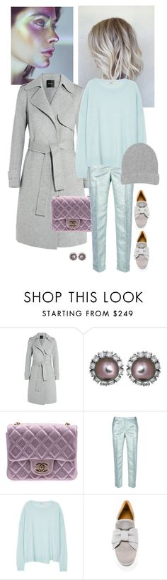 """""""Untitled #988"""" by loveraige ❤ liked on Polyvore featuring Theory, Chanel, Tory Burch, J Brand, BUSCEMI and Warehouse"""