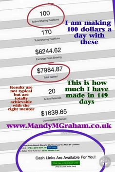 I did it!! First goal reached! 100 active ad packs!! #workfromhome Day 149 total earned $7984.87 Made $136.60 in 1 day! Free to join! Use it to promote your websites, earn money or both! For more info or if you would like to join simply message me or sign up via this link - IT'S FREE so no risk! Earn from day 1 - www.mmgtm.moonfruit.com
