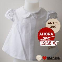 Blusa cuello bebé en algodón oxford en www.nollorespatito.com
