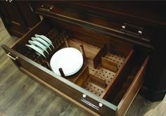 Drawer Inserts Plate Rack for Fineline™ Base Plate - order from the Häfele America Shop. & Kitchen Drawer Plate Organizer | Organizer | Pinterest | Kitchen ...