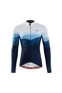 Italy MITI Stelvio fleece thermal fabric winter cycling jersey online for sale. Best long sleeve cycling jersey for cold weather riding. Cycling Tops, Cycling Wear, Cycling Jerseys, Cycling Bikes, Cycling Equipment, Cycling Outfit, Cycling Clothes, Winter Cycling, Bike Kit