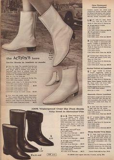 1966 Fall Winter Go-Go boots I