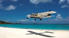 Saint Barths ~  Looking forward to the flight in!