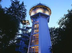 Water tower turned house