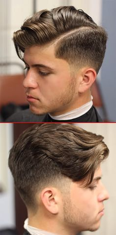young man with undercut
