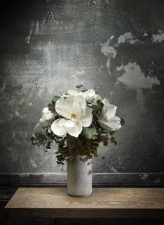 Inner Nature. Composición con magnolias y eucaliptus