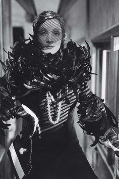 Marlene Dietrich in Shanghai Express (1932), directed by Josef von Sternberg.Costumes by Travis Banton.