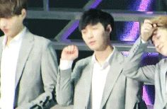 Aegyo Lay and then there is Luhan who just doesn't want to show his aegyo