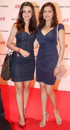 Sanaya Irani and Drashti Dhami at H&M's store launch bash in Mumbai. #Bollywood #Fashion #Style #Beauty #Hot #Sexy