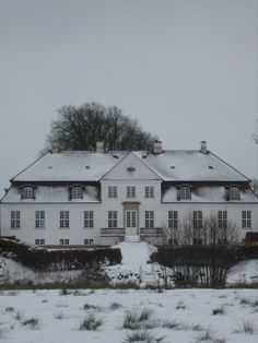 Gelskov Gods 20 km syd for Odense.
