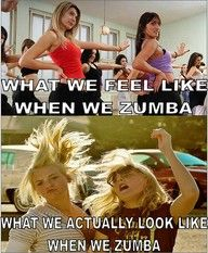 And this would be WHY I hate Zumba.