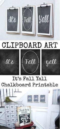 Clipboard Art-Its Fa