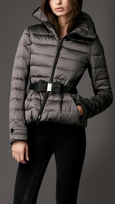 Down-Filled Quilted Jacket | Burberry