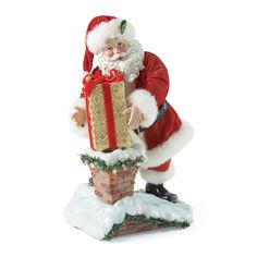 Down The Chimney Santa, 10-Inches high (on my wish list)