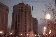 Downtown Mount Clemens, my hometown.
