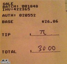 someone knows their maths ;)