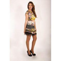 Daisy t-shirt & Bowls skirt -   #moda #summer
