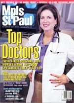 Dr. Crutchfield is Mpls St Paul Top Doctor 2002-2003